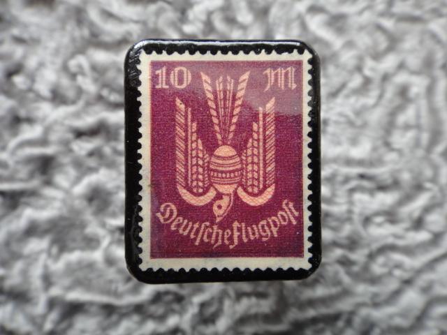 ドイツ 1922〜3年 切手ブローチ712