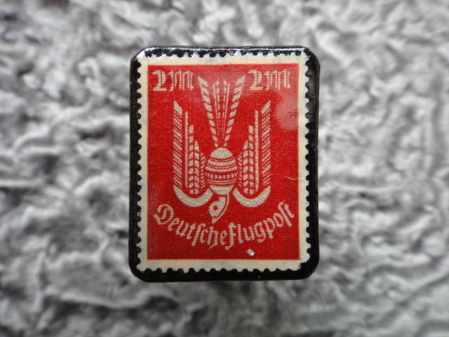 ドイツ 1922〜3年 切手ブローチ714
