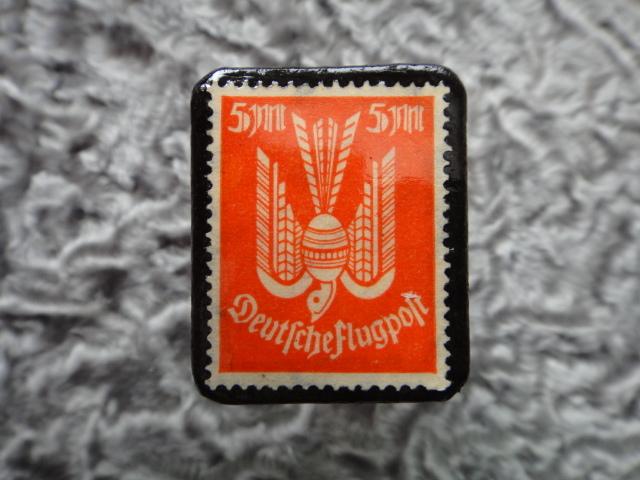 ドイツ 1922〜3年 切手ブローチ716