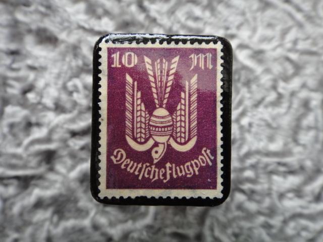 ドイツ 1922〜3年 切手ブローチ718