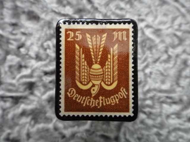 ドイツ 1922〜3年 切手ブローチ719