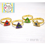 ▽triangle△ring