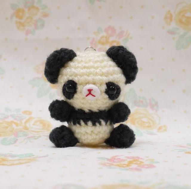 【puriyukinko様オーダー分】パンダさんのバックチャーム