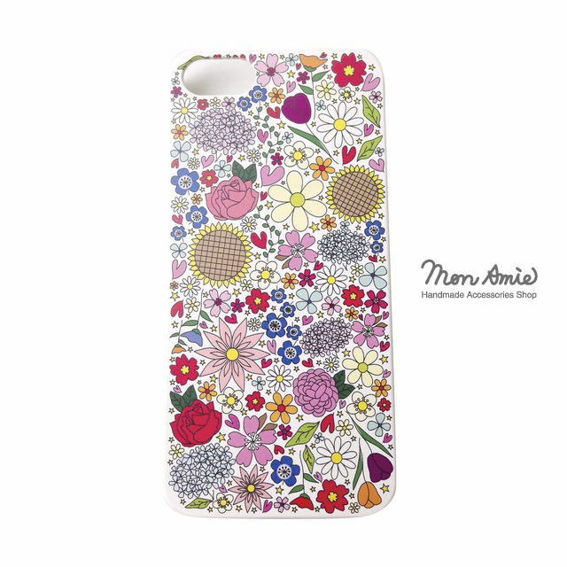 【送料無料】pop flowers iphone5/5s case