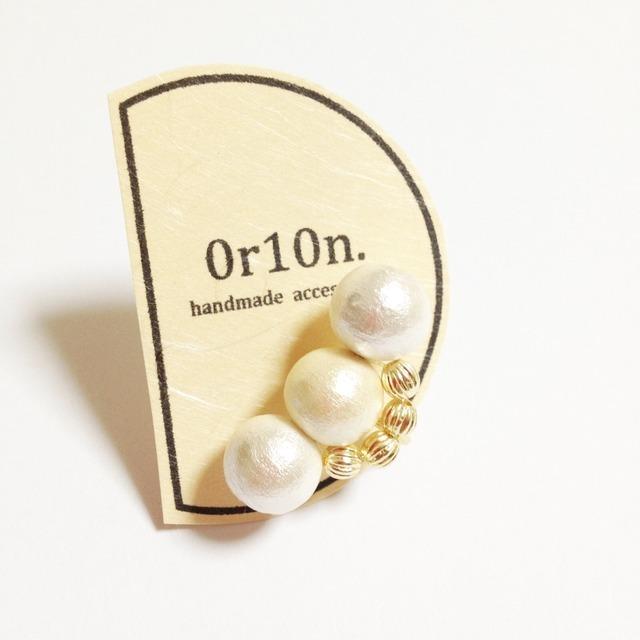10mm pearl ear caph.