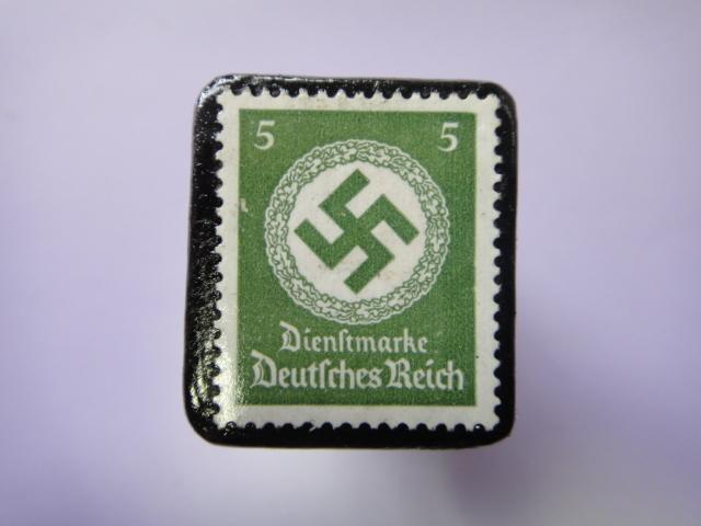 ドイツ 1934年 切手ブローチ722