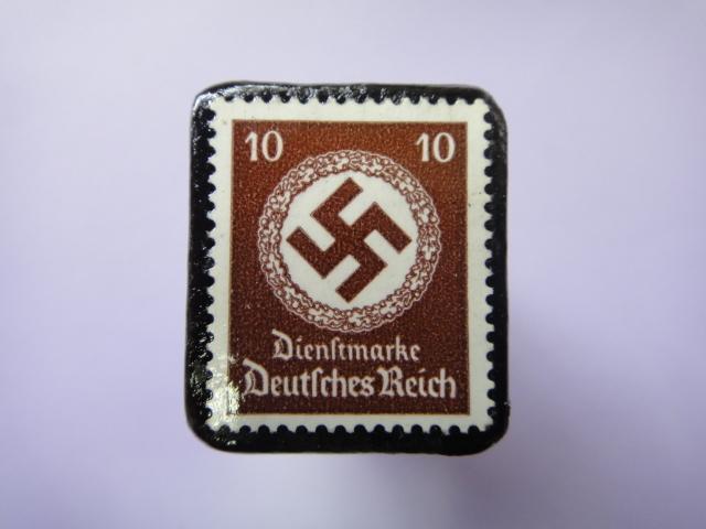 ドイツ 1934年 切手ブローチ725