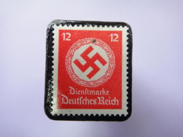ドイツ 1934年 切手ブローチ726
