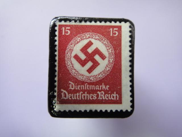 ドイツ 1934年 切手ブローチ727