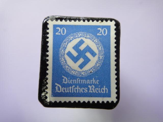 ドイツ 1934年 切手ブローチ728