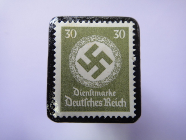 ドイツ 1934年 切手ブローチ729