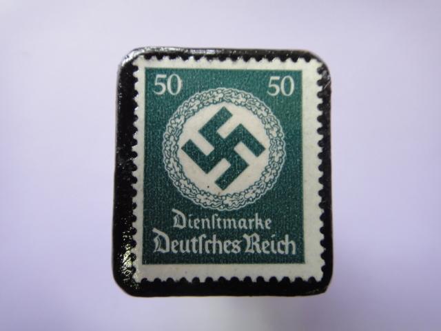 ドイツ 1934年 切手ブローチ731