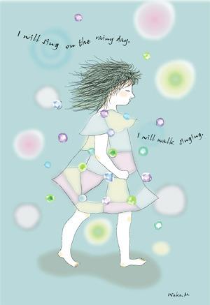 雨の日も歌いながら歩く