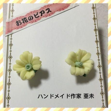 新春クリアランスセール★49 お花のピアス