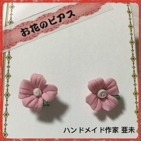 新春クリアランスセール★50 お花のピアス