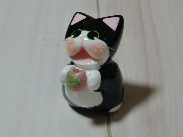 送料無料♪ 桜餅ネコ♪