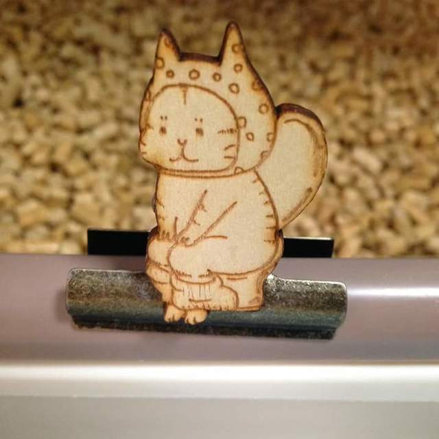 【クリップ】トイレねこ