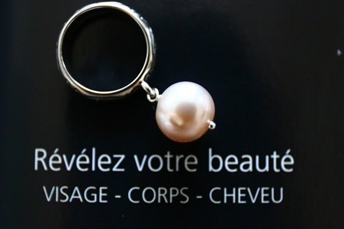 (silver925)大粒淡水パールのリング(10号)[rg0196]