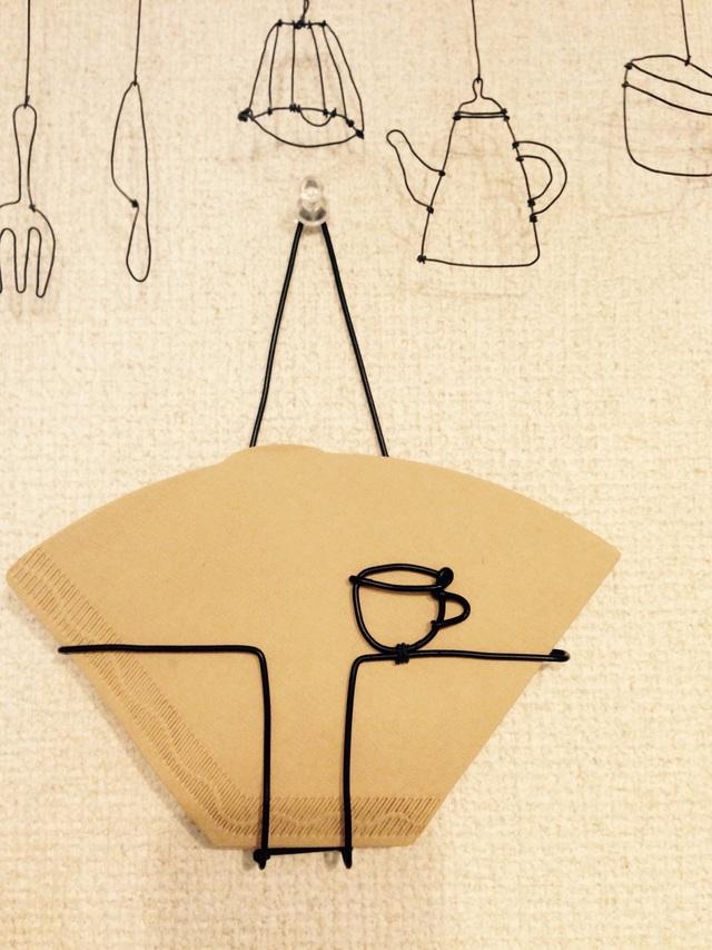 [再販] シンプル×コーヒーフィルターホルダー