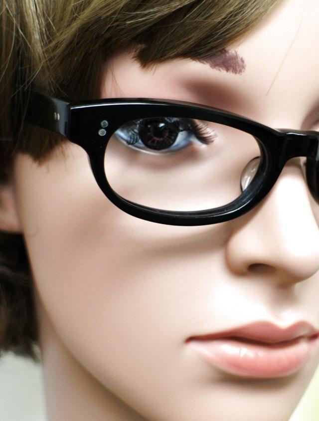 【男女兼用サイズ】丈夫に作った骨太セルロイド眼鏡GO-001-BB