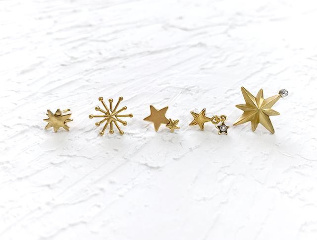 金の星採集(ノンホールピアス)