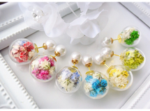 ♡12000*flower glas dome*