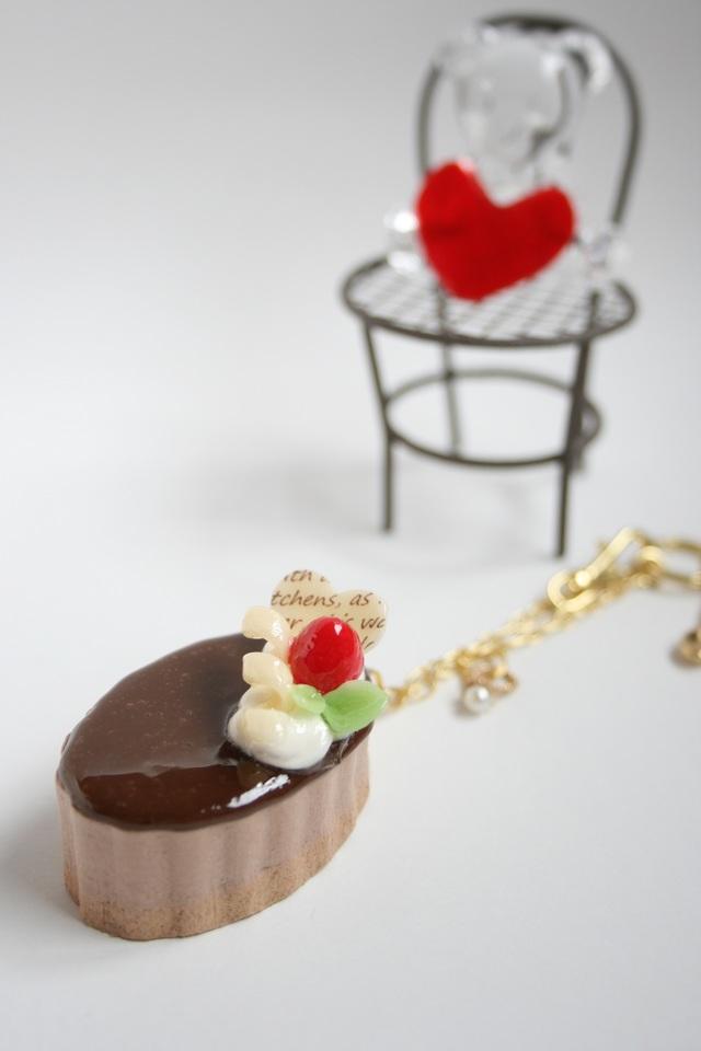 値下げしました!こっくりチョコソースのチョコムース