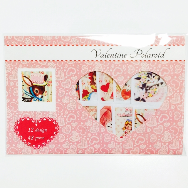 バレンタイン限定!! ポラロイドシール