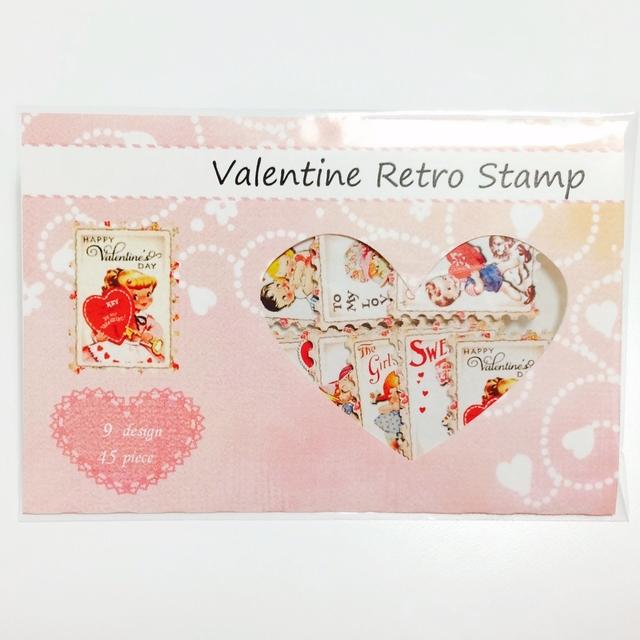 バレンタイン限定!! レトロ切手