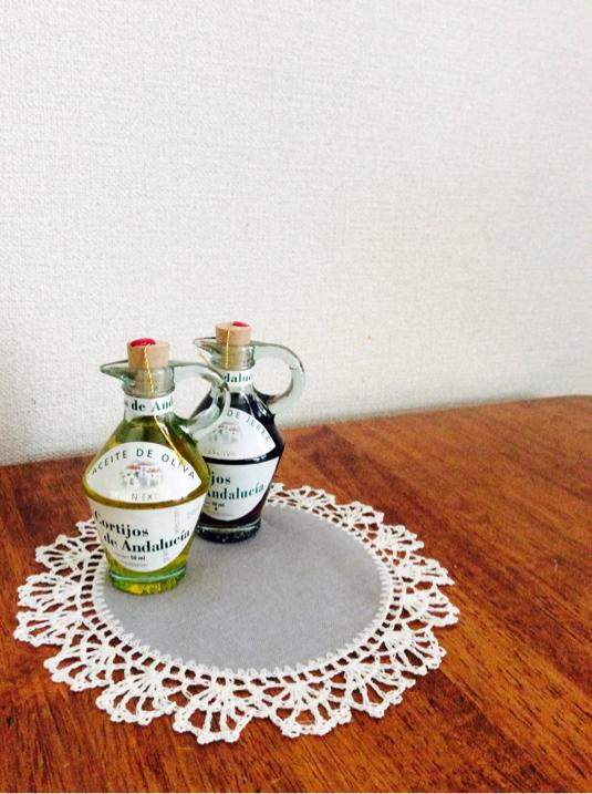 リトアニアリネンの花瓶敷き   Linas2