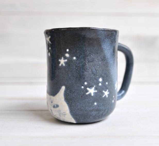ほしネコのマグカップ