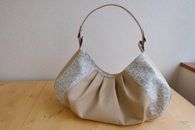 ★K様ご予約品★ リバティ Eloise(エロイーズ)×帆布のワンハンドルバッグ