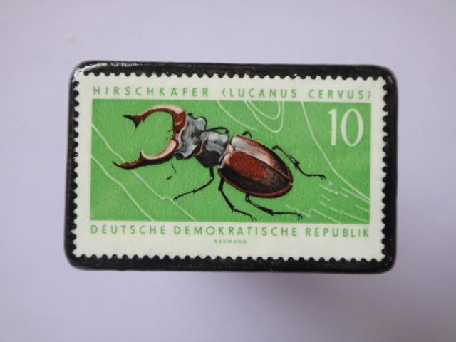 ドイツ 切手ブローチ759