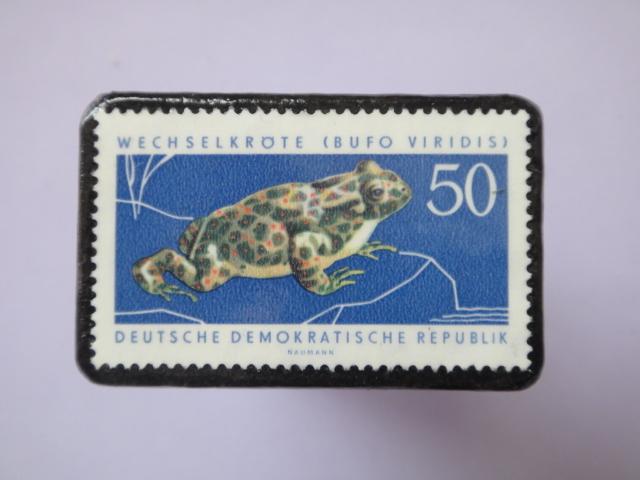ドイツ 切手ブローチ762