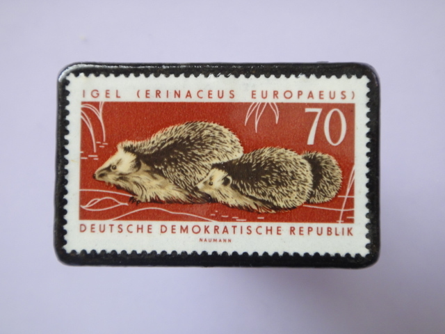 ドイツ 切手ブローチ763