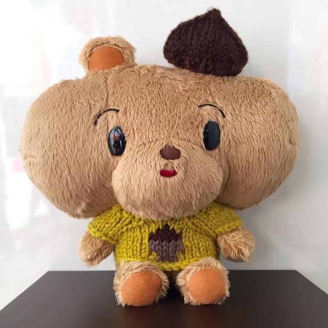 ぽくぽくのどんぐりセーター&栗帽子