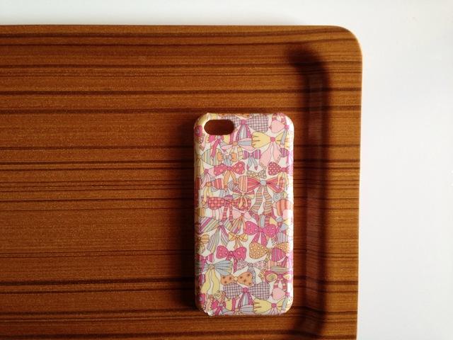 iphone4/4s*完売色*ジェニーズリボンズ*ピンク系*リバティ*スマホケース