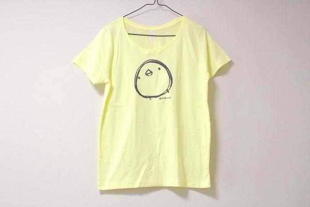 ひよこさんシンプルTシャツ ミルキーイエロー(girls-S)