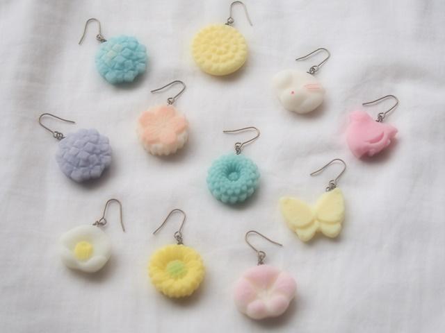 耳に砂糖菓子(菊)