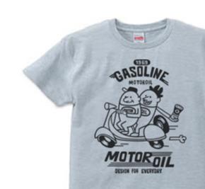 【再販】ビーンズマン&スクーター S〜XL  Tシャツ【受注生産品】