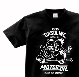 ビーンズマン&スクーター 150.160.(女性M.L) S〜XL Tシャツ【受注生産品】