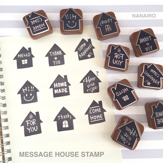 MESSAGE HOUSE STAMP ��ʸ�������ǽ��