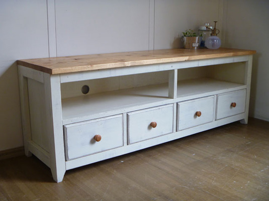 【 Drawers4 TV CABINET 】