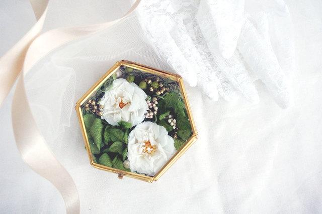 花のリングピローケース【o.a._f/g/g】