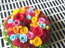XS size order-made preserved flowers wreath  リース Y様オーダー品