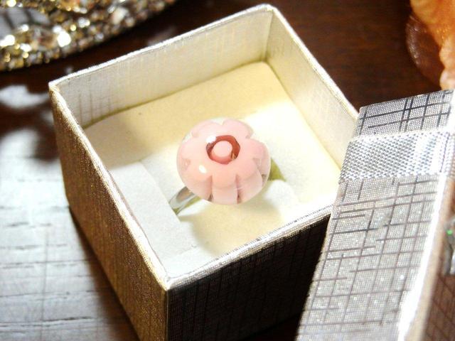 ミルフィオリの指輪
