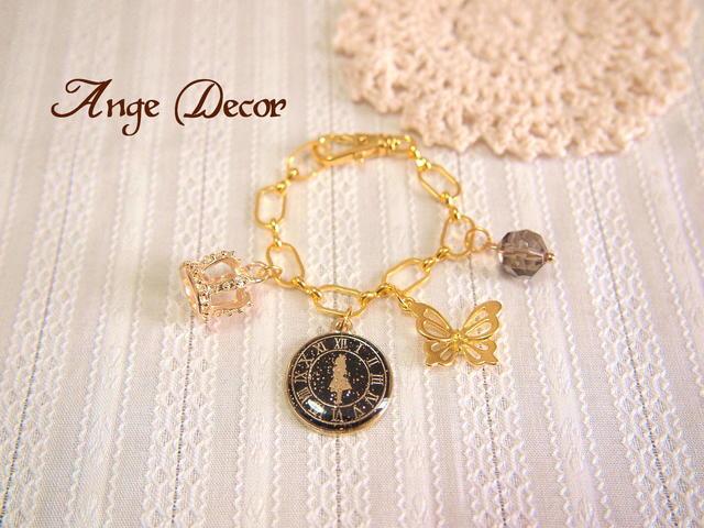 ◆◇アリス時計のバックチャーム A◇◆