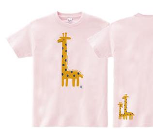 giraffe☆キリン WM〜WL?S〜XL Tシャツ【受注生産品】
