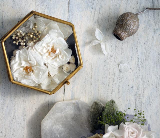 花のリングピローケース【o.a._f/g/e】
