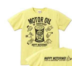 モーターオイル of everybody S〜XL  Tシャツ【受注生産品】